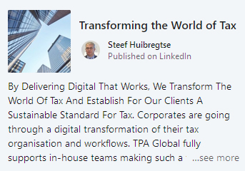 191206 Transforming the World of Tax1